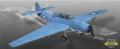 [予約]メリット 1/18 TBF アベンジャー ミッドウエー海戦 VT-8スコードロン ※各部可動式、フィギュア付属