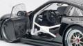 AUTOart (オートアート) 1/18 ポルシェ 911 (997) GT3 R 2010 プレーンボディ (ブラック)