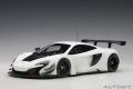[予約]AUTOart (オートアート) コンポジットダイキャストモデル 1/18 マクラーレン 650S GT3 (ホワイト)