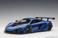 [予約]AUTOart (オートアート) コンポジットダイキャストモデル 1/18 マクラーレン 650S GT3 (メタリック・ブルー)