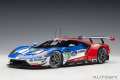 [予約]AUTOart (オートアート) コンポジットダイキャストモデル 1/18 フォード GT 2017 #67 (ル・マン24時間レース LMGTE Proクラス2位)