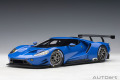 [予約]AUTOart (オートアート) コンポジットダイキャストモデル 1/18 フォード GT ル・マン (ブルー)
