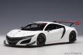 AUTOart (オートアート) コンポジットダイキャストモデル 1/18 ホンダ NSX GT3 2018 (ホワイト)