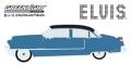 """[予約]グリーンライト 1/24  Elvis Presley (1935-77) - 1955 Cadillac Fleetwood Series 60 """"Blue Cadillac"""""""