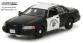 [予約]グリーンライト 1/43 2008 Ford Crown Victoria Police Interceptor California Highway Patrol