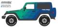 [予約]グリーンライト 1/43 2014 Jeep Wrangler Rubicon - Falken Tire