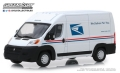 [予約]グリーンライト 1/43 2018 Ram ProMaster 2500 Cargo High Roof - United States Postal Service (USPS)