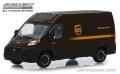 [予約]グリーンライト 1/43 2018 Ram ProMaster 2500 Cargo High Roof - United Parcel Service (UPS) Worldwide Services