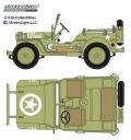 [予約]グリーンライト 1/43 1944 Jeep C7 アメリカ陸軍 アーミーグリーン