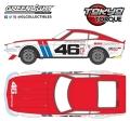 [予約]グリーンライト 1/43 Tokyo Torque - 1971 ダットサン 240Z - #46 Brock Racing Enterprises (BRE) - John Morton