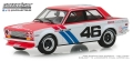 グリーンライト 1/43 Tokyo Torque - 1971 ダットサン 510 - #46 Brock Racing Enterprises (BRE) - John Morton