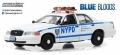 グリーンライト 1/43 2001 フォード クラウン ビクトリアポリス インターセプター NYPD (TVシリーズ 「Blue Bloods」 2010〜)