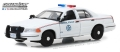 グリーンライト 1/43 フォード クラウン ビクトリア ポリス インターセプター アメリカ郵便警察