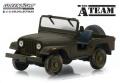 [予約]グリーンライト 1/43 Jeep CJ-5 『特攻野郎Aチーム(TVシリーズ1983〜87年)』