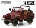 グリーンライト 1/43 Jeep CJ-7 『特攻野郎Aチーム(TVシリーズ1983〜87年)』