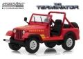 [予約]グリーンライト 1/43  Sarah Connor's 1983 Jeep CJ-7 Renegade' 「ターミネーター(1984年)」