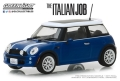 グリーンライト 1/43 The Italian Job (2003) 『ミニミニ大作戦』 - 2003 Mini Cooper - Blue with White Stripes