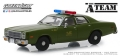 [予約]グリーンライト 1/43 1977年 Plymouth Fury アメリカ軍警察 『特攻野郎Aチーム(TVシリーズ1983〜87年)』
