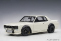 [予約]AUTOart (オートアート)  1/18 日産 スカイライン GT-R (KPGC10) レーシング 1972 (ホワイト)