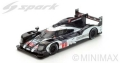 Spark (スパーク)  1/87 ポルシェ 919 Hybrid/HY No.2 Winner ル・マン 2016 R. Dumas/N. Jani/M. Lieb