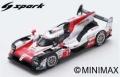 [予約]Spark (スパーク) 1/87 トヨタ TS050 HYBRID No.7 TOYOTA GAZOO Racing 2nd 24H ル・マン 2018 M.Conway/K.Kobayashi/J.M.Lopez