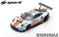 Spark (スパーク) 1/87 ポルシェ 911 RSR No.86 Gulf Racing 24H ル・マン 2019 M.Wainwright/B.Barker/T.Preining