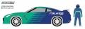 [予約]グリーンライト 1/64 The Hobby Shop Series 2 - 2015 日産 GT-R(R35) Falken Tires with Race Car Driver