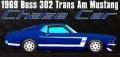 [予約]ACME 1/18 Boss 302 フォード トランザム マスタング 1969 ストリートバージョン