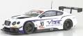 [予約]ALMOST REAL 1/43 ベントレー コンチネンタル GT3 ジョーダン ウィット レーシング #10  2016 GT CUPシリーズ チャンピオン(ホワイト/パープル)