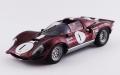 [予約]ART MODEL(アートモデル) 1/43 フェラーリ ディーノ 206 S ブリッジハンプトン 1966 #1 C.Kolb シャーシNo.008
