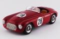 [予約]ART MODEL(アートモデル) 1/43 フェラーリ 166 MM バルケッタ ポルトガル GP 1952#28 C. Biondetti シャーシNo.0022M 総合6位 クラス優勝車