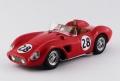 [予約]ART MODEL(アートモデル) 1/43 フェラーリ 500 TRC セブリング12時間 1957 #28 Hively/Ginther シャーシNo.0668 R.R.10th, S2,0 クラス優勝車