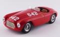 [予約]ART MODEL(アートモデル) 1/43 フェラーリ 166 MM バルケッタ ミッレミリア 1949 #642 Taruffi/Nicolini シャーシNo.0010