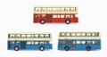 TINY(タイニー) Bs02 チャイナモーターバス クラッシックバス 3台セット