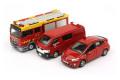 【お1人様5個まで】TINY(タイニー) Bs03 香港消防車 3台セット
