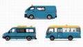 [予約]TINY(タイニー) Bs11 入国管理局車両 3台セット