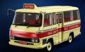 [予約]TINY(タイニー) 1/43 香港パブリック ライトバス 14席仕様 80年代 レッド