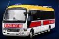 [予約]TINY(タイニー) 1/43 トヨタコースター 香港空港警察車両