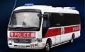 [予約]TINY(タイニー) 1/43 トヨタコースター 香港警察 (AM9800)