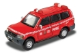 [予約]【お1人様5個まで】TINY(タイニー) Tiny City No.106 三菱パジェロ 2003 消防司令車両