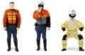 [予約]【お1人様5個まで】TINY(タイニー) Tiny 1/43 FS08 香港救急医療隊 バイク乗車姿勢、直立姿勢 フィギュアセット