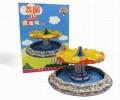 【お1人様5個まで】TINY(タイニー) Tiny City Lai Chi Kok Park ボート ジオラマ (3Dパズル)