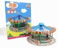 【お1人様5個まで】TINY(タイニー) Tiny City Lai Chi Kok Park バンパーカー ジオラマ (3Dパズル)