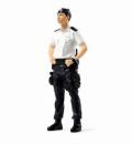 【お1人様5個まで】TINY(タイニー) 1/18 004 警部 CTRU (対テロ対策ユニット)