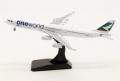 """[予約]Aviation400 1/400 A340-300 キャセイパシフィック航空 """"OneWorld"""" B-HXG With Stand"""