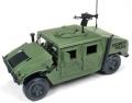 [予約]JOHNNY LIGHTNING(ジョニーライトニング) 1/18 セキュリティ ポリス Humvee (オリーブドラブ)