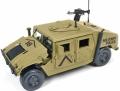 [予約]JOHNNY LIGHTNING(ジョニーライトニング) 1/18 ミリタリー ポリス Humvee (デザートカモフラージュ)