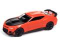 [予約]オートワールド 1/64 2019 シェビー カマロ ZL1 1LE オレンジ/ブラック