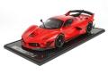 [予約]BBR MODELS 1/12 フェラーリ FXXK EVO レッドコルサ/ブラックグロスホイール