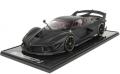 [予約]BBR MODELS 1/12 フェラーリ FXXK EVO マットブラック/グロスブラックホイール